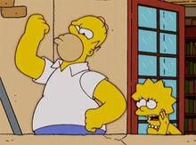 Homer ditador mussolini