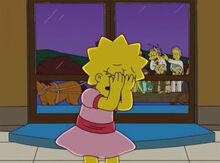 Lisa decepcionada moe escritores