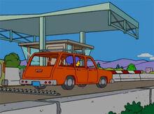 Marge posto pedagio