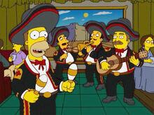Homer 32 mariachis