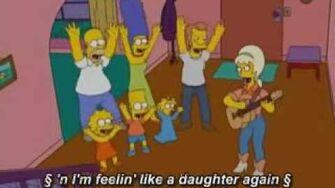 The Simpsons Feelin' like a Daughter Again(Papa Dont Leech)
