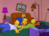 Unconscious Family couch gag
