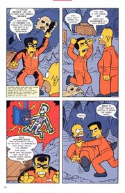 Frank Grimes Grimey in The Simpsons Comics Big House Homer