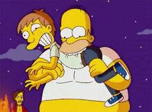 Homer devorando adolescente thoh17