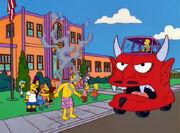 Homer headdevil hotcar