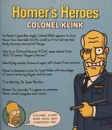 HomersHeroesColonelKlink