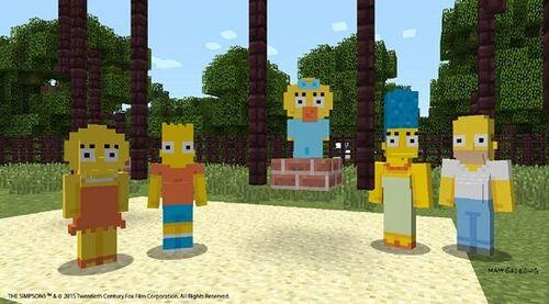 Simpsonsminecraft