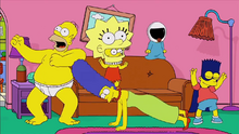 Homer Shake Couch Gag