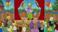 Homer ruining a birthday party