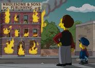 Pożar fabryki komiksów
