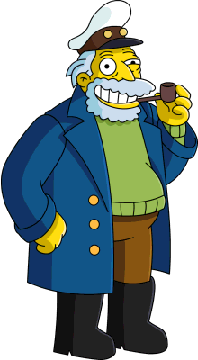 Simpsons sea captain homosexuality
