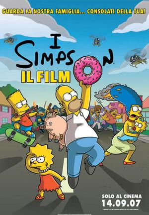 I Simpson il film poster 2