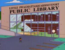 Little Pwagmattasquarmsettport Public Library