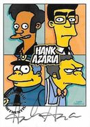 Simpsons Mania 2001 Trading Card - Frank Grimes Grimey