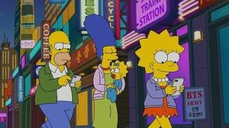 BTS and ARMY on 'The Simpsons' Season 30 Episode 17 -Eng Sub-