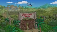 Jurassic Park ruins Treehouse of Horror XXIX