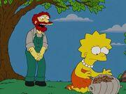 Lisa ze zniszczonym ulem