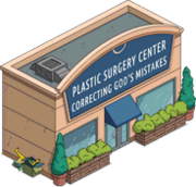 Plastic surgery center tapped out