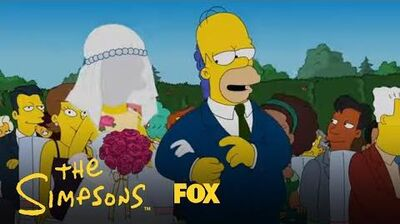 Homer Walks The Bride Down The Aisle Season 31 Ep