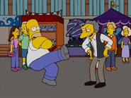HomerAndNed'sHailMaryPass-HomerShowingOff4