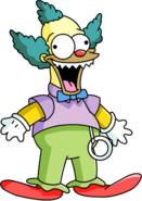 Killer Krusty Doll Tapped Out