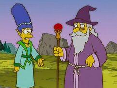 Marge piégée par le net