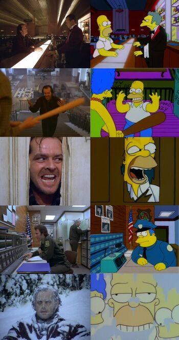 Simpsons Shining