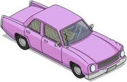 The Simpsons Tapped Out Family Sedan