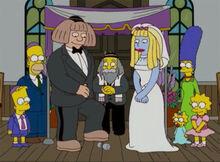 Golems casamento fim