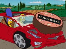 Homer marge lamborghini mortadela