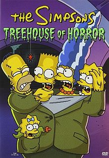 Treehouse of Horror series DVD simpsons