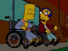 Bart milhouse velhos 18x18