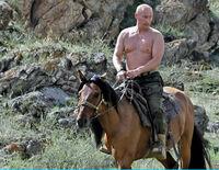 Putin Andando à Cavalo 2