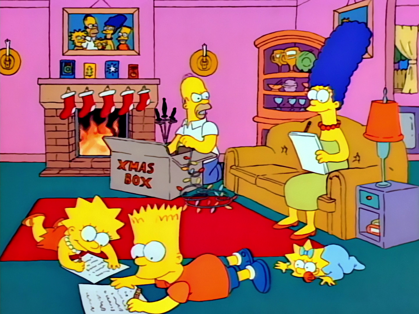 Image result for simpsons roasting on an open fire