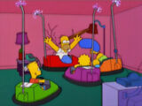 Bumper Cars couch gag