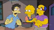 Lisa Simpson a necrophile (Days of Future Future - Zombie soup kitchen)
