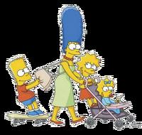 Marge z dziećmi