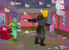 Bart cavaleiro furia hello kitty 2