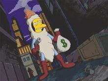 O fumador arma dinheiro