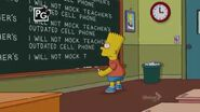 The Good, the Sad and the Drugly Chalkboard Gag