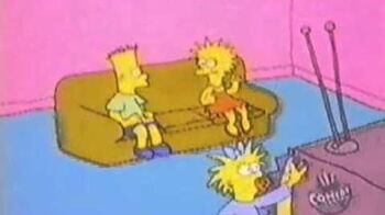 The simpsons tracy ulaman show watching tv