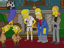 Homer 40 burns mentira
