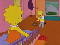 Pan Burns błaga Lisę o pomoc