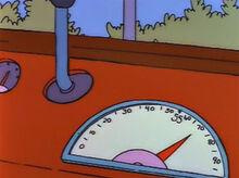 Velocimetro ônibus 70 milhas