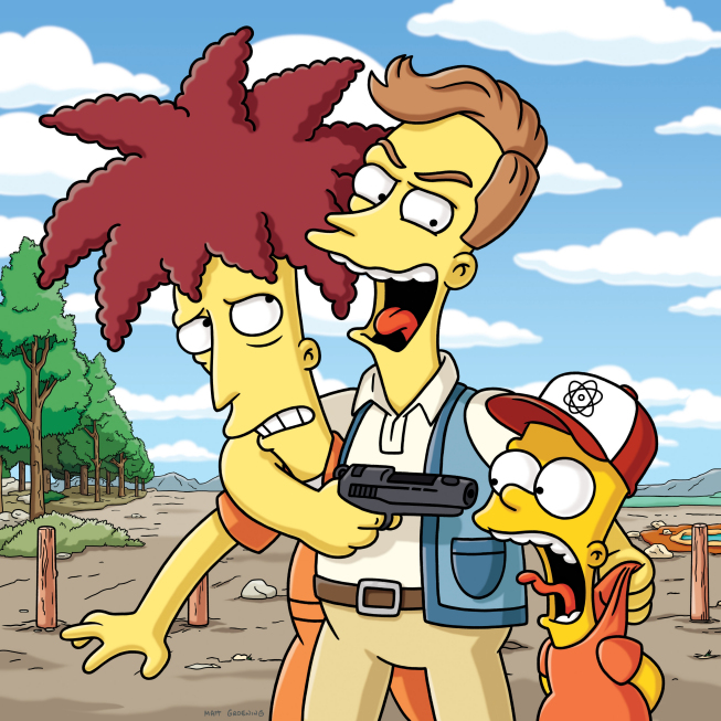 The Bob Next Door Simpsons Wiki Fandom Powered By Wikia