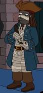 Amenhotep as a Pirate