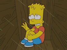 Bart escondido caixa bote