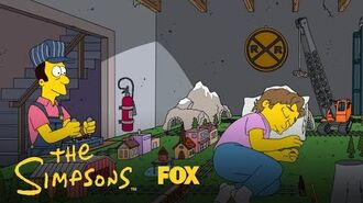 Bode Gets Caught Sleeping On The Tracks Season 31 Ep. 19 THE SIMPSONS