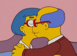Kirk e Luann Van Houten