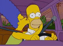 Marge beijo homer fim amnesia